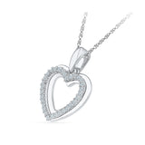 Heart of Gold Diamond Pendant