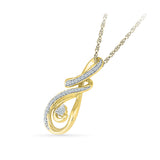 Give it a Whirl Diamond Pendant