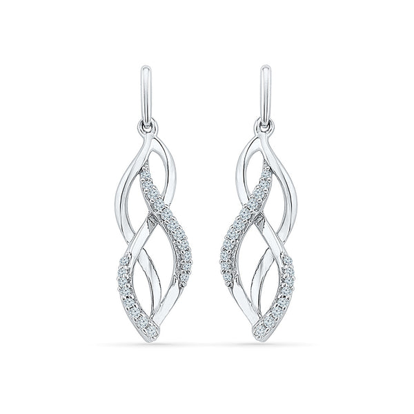 Irrepressible Diamond Danglers in 14k and 18k gold for women online