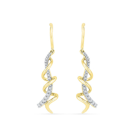 Luminosity Diamond Drop Earrings in 14k and 18k gold for women online