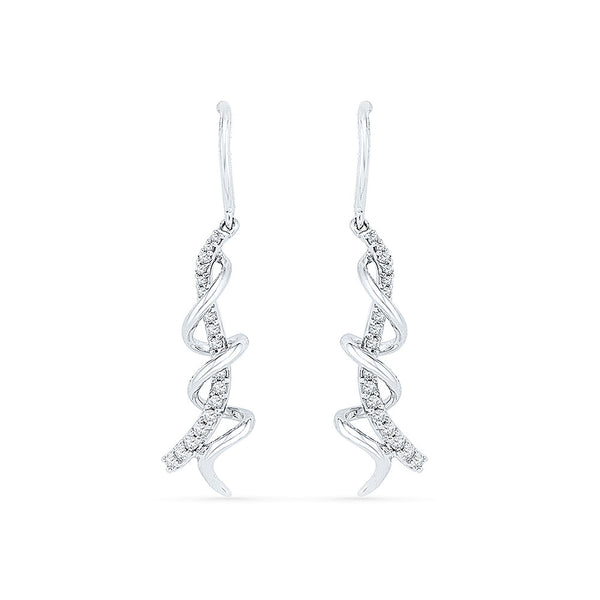 Luminosity Diamond Drop Earrings
