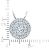 Circle Charms Diamond Pendant