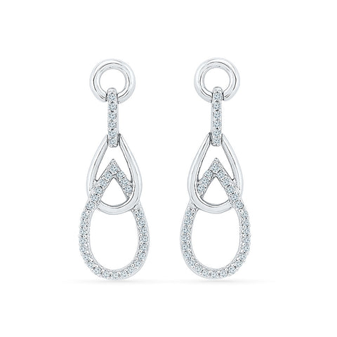 Brilliant Shine Diamond Danglers - Radiant Bay