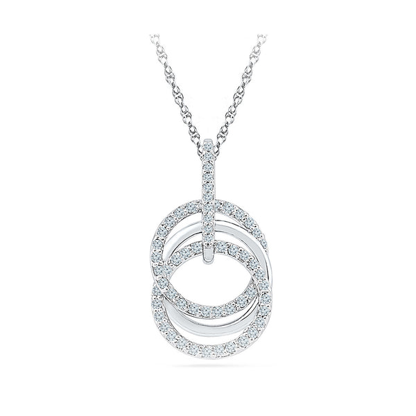 Best of Three Diamond Pendant - Radiant Bay