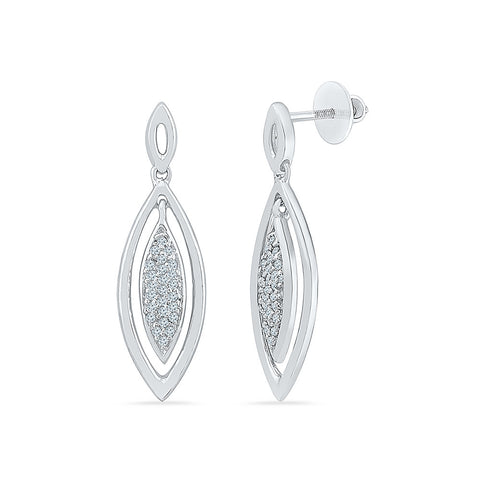 Forever Flashy Diamond Drop Earrings in 14k and 18k gold