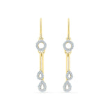 Splendiferous Diamond Dangler Earrings