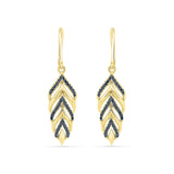 Scintillate Gold Baroque Earrings in 14k and 18k gold for women online