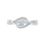 Sassy Swirl Diamond Bling Ring