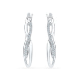 Precious Adornment Diamond Earrings