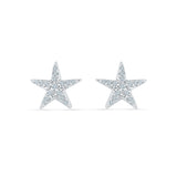 Heavenly Diamond Studs in 14k and 18k gold for women online