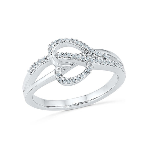 Ardor Heart Diamond Ring - Radiant Bay