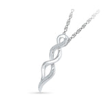 Rhythm of Sparkles Diamond Pendant