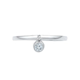 Alluring Diamond Bling Band Ring - Radiant Bay