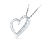 Radiant Love Diamond Pendant