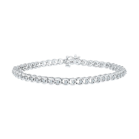 diamond bracelet for functions  in white and yellow gold