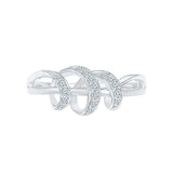 Gracious Whirl Everyday Diamond Ring