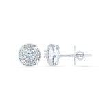 Cheery Diamond Studs
