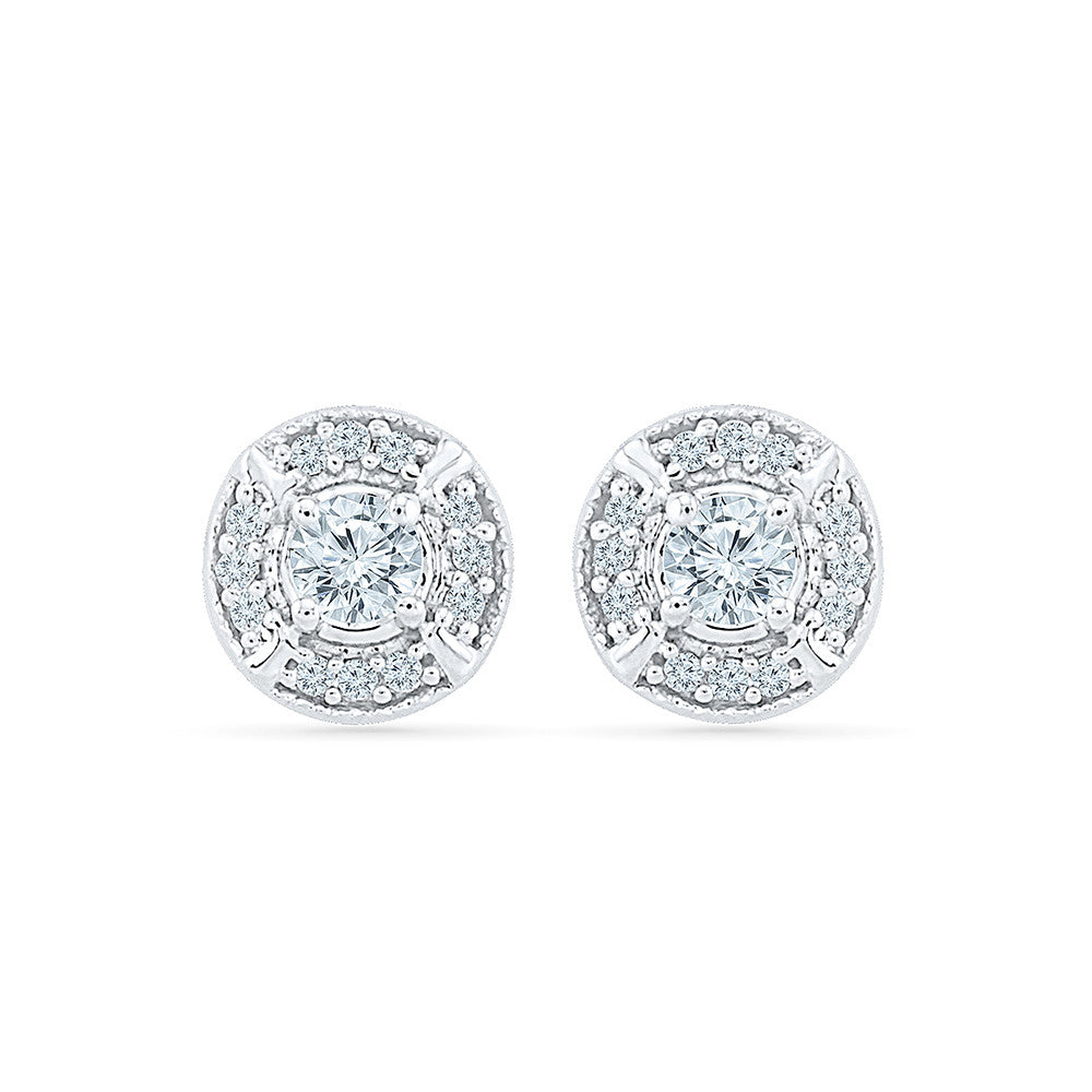 e41a47346 Save · Cheery Diamond Studs in 14k and 18k gold for women online