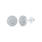 Lavish Diamond Stud Earrings in 14k and 18k gold for women online