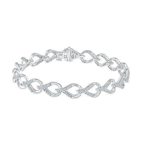 Diamond Bracelet in 14kt and 18kt gold