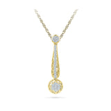 Swinging Diamond Grace Pendant  in 14k and 18k Gold online for women