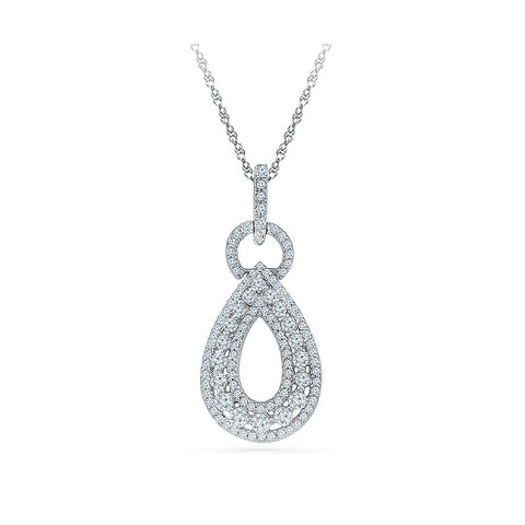 women's party wear diamond pendant in 14k and 18k Gold online for women