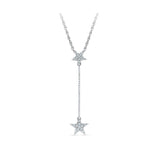 14k and 18k Gold Rising Star Diamond Pendant in Prong setting online for women