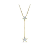 Rising Star Chain Diamond Pendant