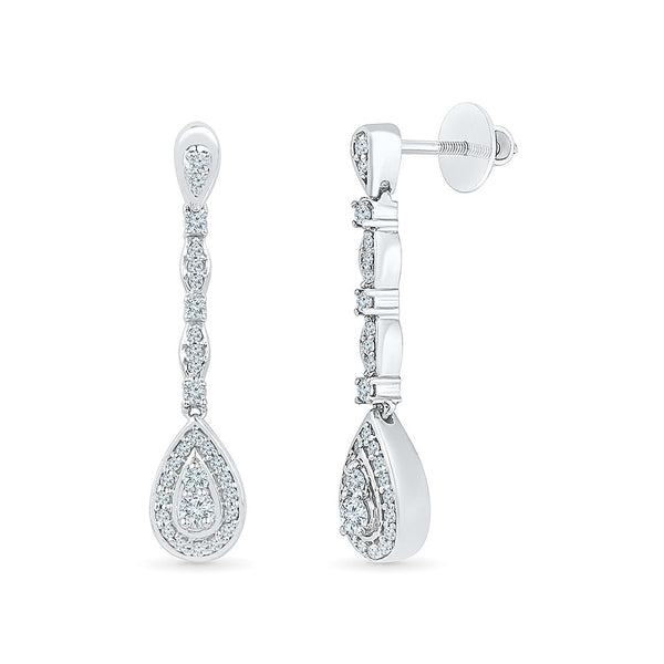Showstopper-Special-Diamond-Drop-Earrings-for-women in 14k and 18k gold