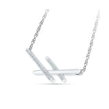 Breathtaking Three Bar Diamond Necklace
