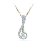 Musical Musings Diamond Pendant