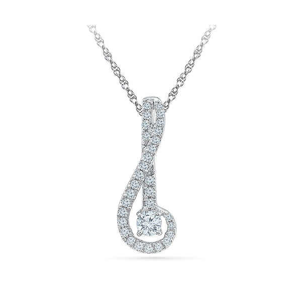 Musical Musings Diamond Pendant in 14k and 18k Gold online for women