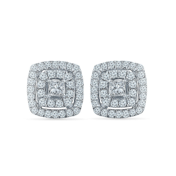 Spry Diamond Studs in 14k and 18k gold for women online