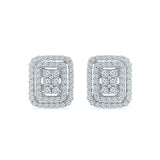Jocund Diamond Studs in 14k and 18k gold for women online