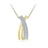 Embrace Dainty Diamond Pendant