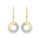 Breezy Diamond Drop Earrings