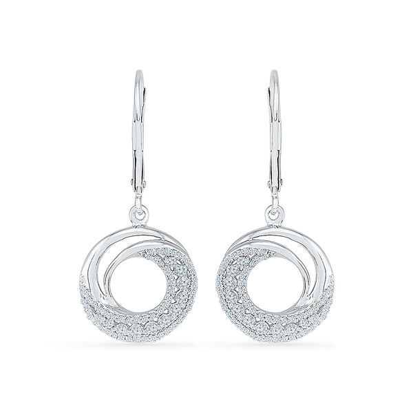 Breezy Diamond Drop Earrings in 14k and 18k gold for women online