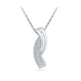 traditionally designed diamond pendant in 14k and 18k Gold online for women
