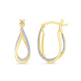 Sparkle Pretty Diamond Drop Earrings