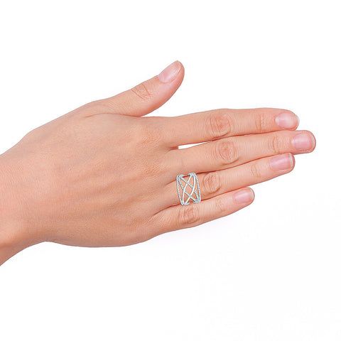Gala Premium Diamond Cocktail Ring