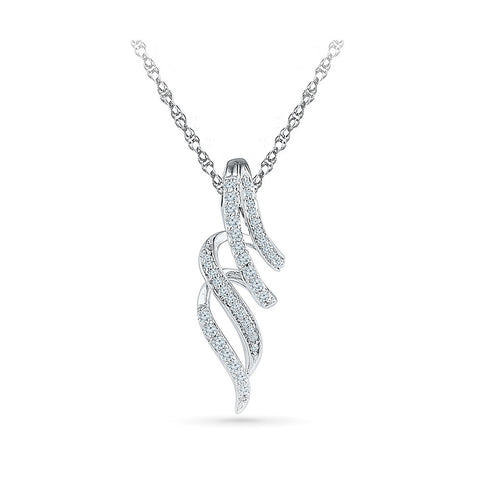 ever stylish diamond pendant in 14k and 18k Gold online for women