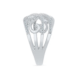 Swirl In Style Diamond Cocktail Ring