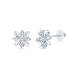 Tiny Flower Stud Earrings