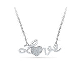 14k and 18k Gold Love & Lustre Diamond Pendant  in PRONG setting online for women