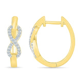 Infinite Love Infinity Hoop Earring