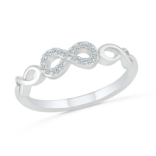 Boundless Love Infinity Ring
