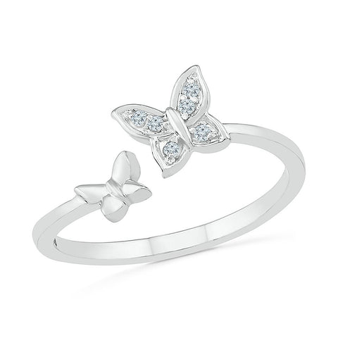 Deconstructed Butterfly Ring