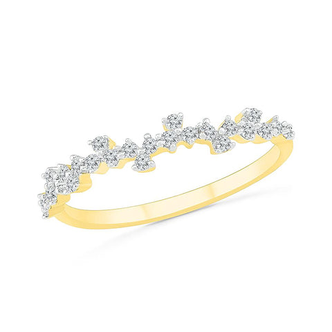 Flirtatious Scattered Diamond Ring