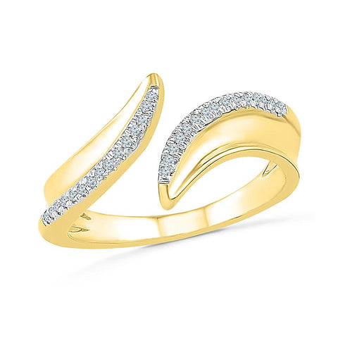 You and Me Bold Gold Ring