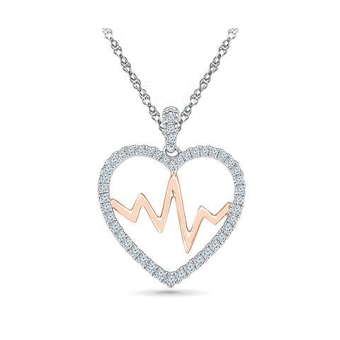 Valentine Crush Rush Diamond Pendant for women online in gold